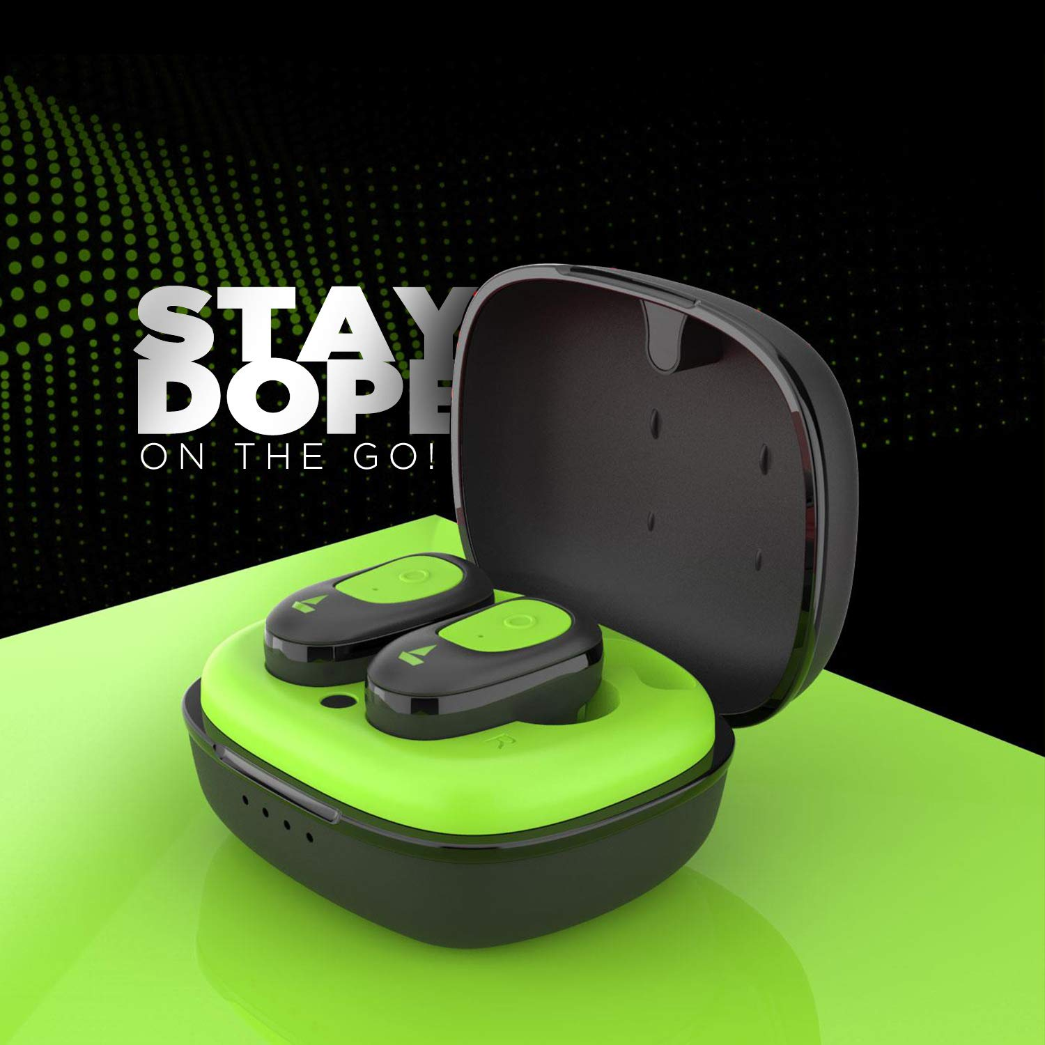 boAt Airdopes 201 True Wireless Earbuds with BT v5.0, IPX 4 Sweat and Water Resistance, in-Built Mic with Voice Assistant